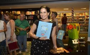 Roberta Sudbrack lança livro no Rio. Aos cliques!
