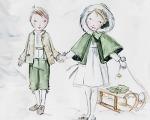 Casamento de Andrea Casiraghi teve trajes especiais para as crianças
