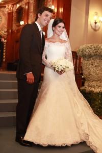 Casamento de Bruna Caldoncelli e Bruno Sousa em SP agita sábado de glamurettes