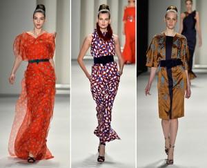 Carolina Herrera desfila coleção sexy abaixo de zero grau em NY