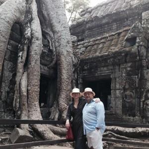 Tania e Marcos Derani se jogam pela Ásia em clima de aventura