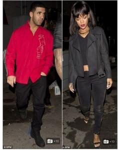 Rihanna e Drake são flagrados juntos de novo. Será que agora vai?