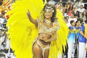 Ju Alves, rainha de bateria: o melhor sapato para sambar e outras dicas