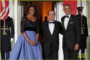 Contrariando boatos, Obama recebe presidente francês na Casa Branca