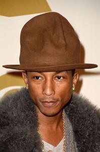 Chapéu usado por Pharrell Williams na cerimônia do Grammy vai a leilão