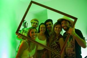 Gafisa arma opening na casa de Renata Cunha Pereira e André Romero Gonçales, em Perdizes