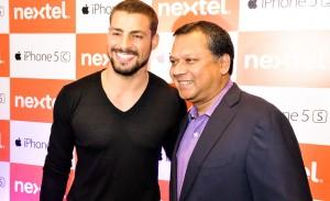Nextel lança iPhone com a presença de Cauã Reymond
