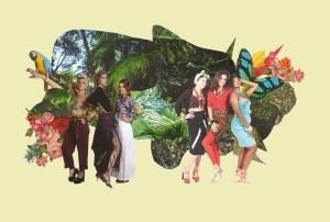 Revista J.P apresenta as Carmens Mirandas dos nossos tempos. Chica boom chic!