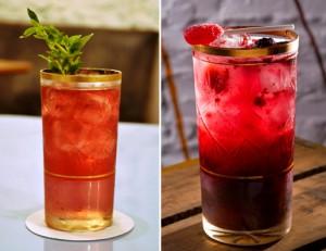 Dois drinks inusitados para refrescar o calor depois do trabalho. Às receitas!