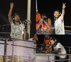 DJ Bob Sinclar tremeu o Expresso 2222 com clássico do nosso Carnaval