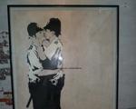 """Obra polêmica de Banksy é vendida em Miami por """"pechincha"""""""