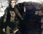 Karlie Kloss posa para Animale em paisagem cinematográfica. As imagens aqui
