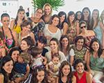 Famosos e ex-MTVs juntos na festa de aniversário de Sarah Oliveira