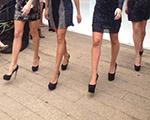 Glamurettes a mil no desfile da Thelure no JK Iguatemi