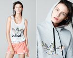 Conheça a coleção Adidas Originals em parceria com a Topshop