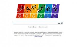 Isso aí: Google lança Doodle em protesto conta lei anti-gay russa