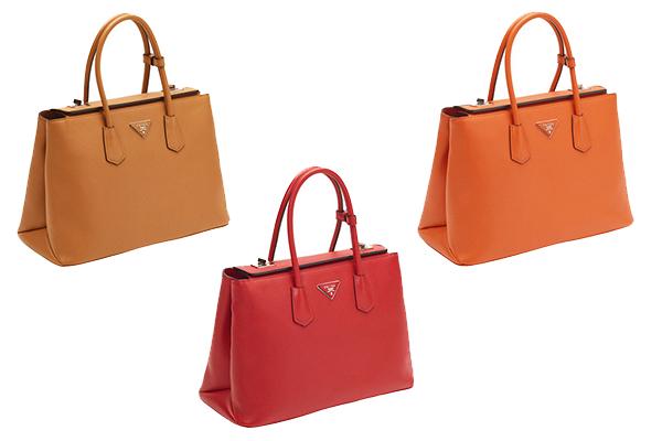 9937d9288 Desejo do Dia: a Prada Twin Bag, duas em uma – Glamurama