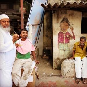 Os Gêmeos e reencontro com grafite… Feito na Índia! O registro, aqui!