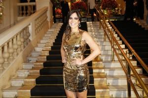 Carol Sampaio junta glamurettes e starlets em festa