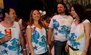 Participantes Multiplus curtem trio de Ivete Sangalo e camarote de Licia Fabio