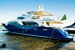 Iate italiano mais valioso do Rio Boat Show é de um brasileiro. Quem?