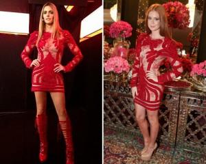 Marina Ruy Barbosa e Fernanda Lima usam o mesmo look. Quem veste melhor?