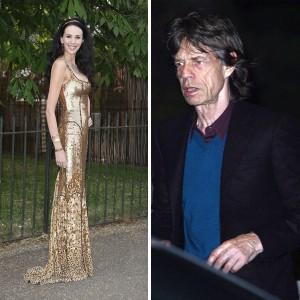 Jagger aterrissa em Los Angeles para cuidar do funeral de L'Wren Scott