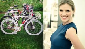 Maythe Birman estreia as bicicletas de Lorenzo Martone no Brasil