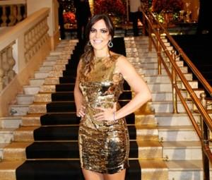 Carol Sampaio: estrelas da música no palco e globettes mil em aniversário, no Copa
