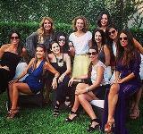 Isabella Giobbi recebe glamurettes em comemoração de aniversário. À festa!