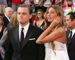 Reencontro amigável: Leo DiCaprio e Gisele Bündchen na festa do Oscar