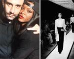 Celebridades deixam o Oscar de lado para conferir o desfile da Givenchy, em Paris