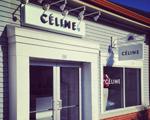 Boas novas. Céline abre sua primeira loja em outlet no mundo
