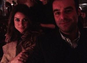 Thaila Ayala no maior grude com James Franco em NY. Tá rolando?