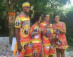 Família Casé: roupa temática para batizado de Roque. Cliques exclusivos, aqui!