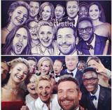 """Jared Leto é """"recolocado"""" no selfie mais visto do mundo. Aos detalhes!"""