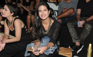 Semana de moda do Rio, dia 1. Aos cliques