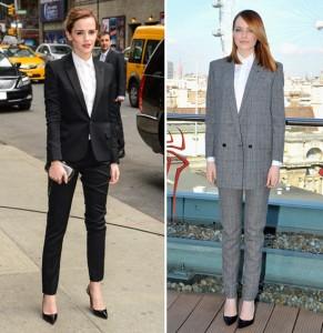 Emma Watson X Emma Stone: o estilo das atrizes nas estreias da vez