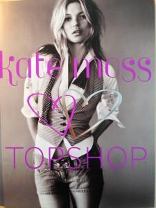 Coleção de Kate Moss para Topshop está quase esgotada em Londres