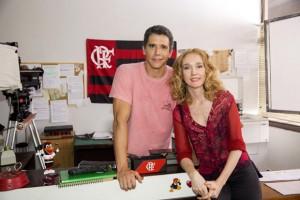 Marcio Garcia: ex-namorado de Camila Morgado. Só na ficção