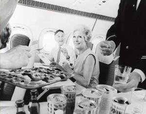 British Airways lança fotos históricas de sua primeira classe