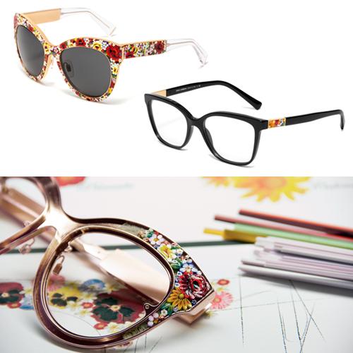 17c3c0cbcc566 Dolce   Gabbana traz ao Brasil óculos decorados como mini-mosaicos ...