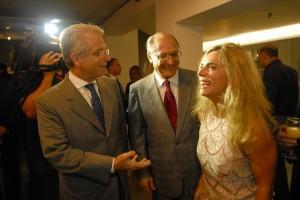 Para Alckmin, Anchieta só conseguiu canonização por causa de Bruna Lombardi. Oi?