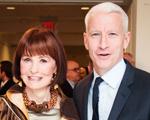 Gloria Vanderbilt não vai deixar herança para o filho Anderson Cooper