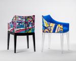 Lá em Casa: a Madame, de Philippe Starck, estampada por Emilio Pucci