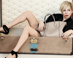 Louis Vuitton e Peter Lindbergh encaixotam Michelle Williams