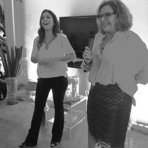 "Luiza Zaidan no segundo dia de Lado B: ""Gosto de coisas engordativas"""