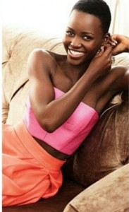 Lupita Nyong'o faz piadinha com título de mulher mais bela do mundo