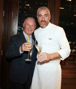 Philippe de Nicolay Rothschild lança champagne em SP e no Rio