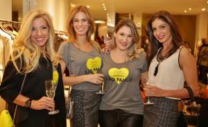 Lita Mortari lança camisetas em prol da Brazil Foundation